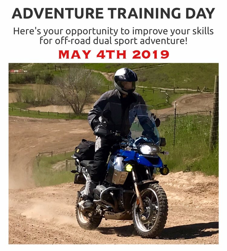 test Twitter Media - ADVENTURE TRAINING DAY  IMPROVE YOUR ADV SKILLS Saturday May 4th 2019  Here's your opportunity to improve your skills and gain the confidence to explore off-road in dirt, mud, rocks, sand, water and gravel, on your dual sport adventure  https://t.co/1qUyAWob91 #advrider #adv https://t.co/0u5E2FtxeN