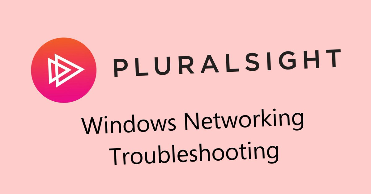 test Twitter Media - Learn how to diagnose, troubleshoot, and repair any type of networking problem in my Windows Networking Troubleshooting course https://t.co/jSCA07tGOl @Pluralsight #Windows7 #windows8 #Windows10 https://t.co/Hz5HQgIu6d