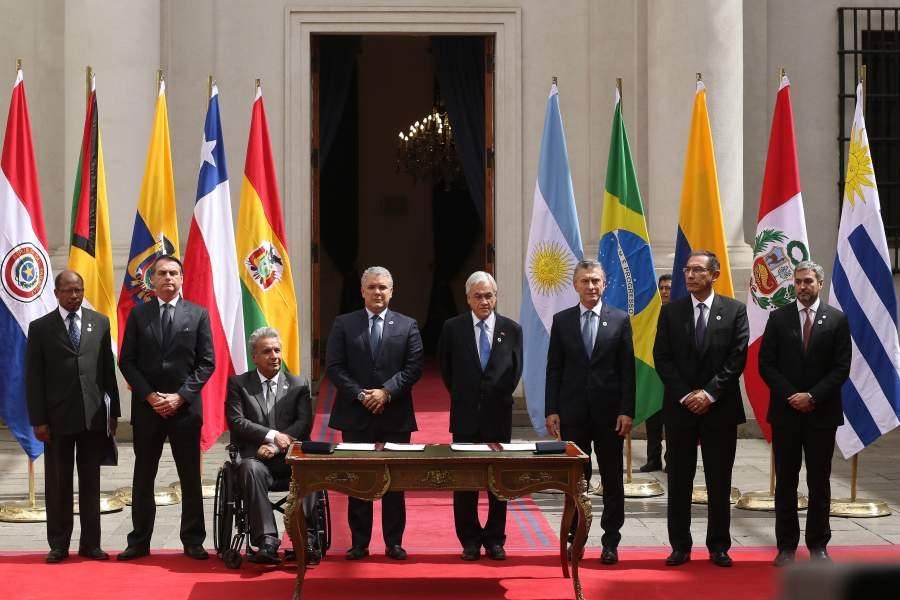 Presidente Piñera opta por el retiro definitivo de Chile de Unasur https://t.co/lVIwTjsA9T https://t.co/UYcbwPv4zC