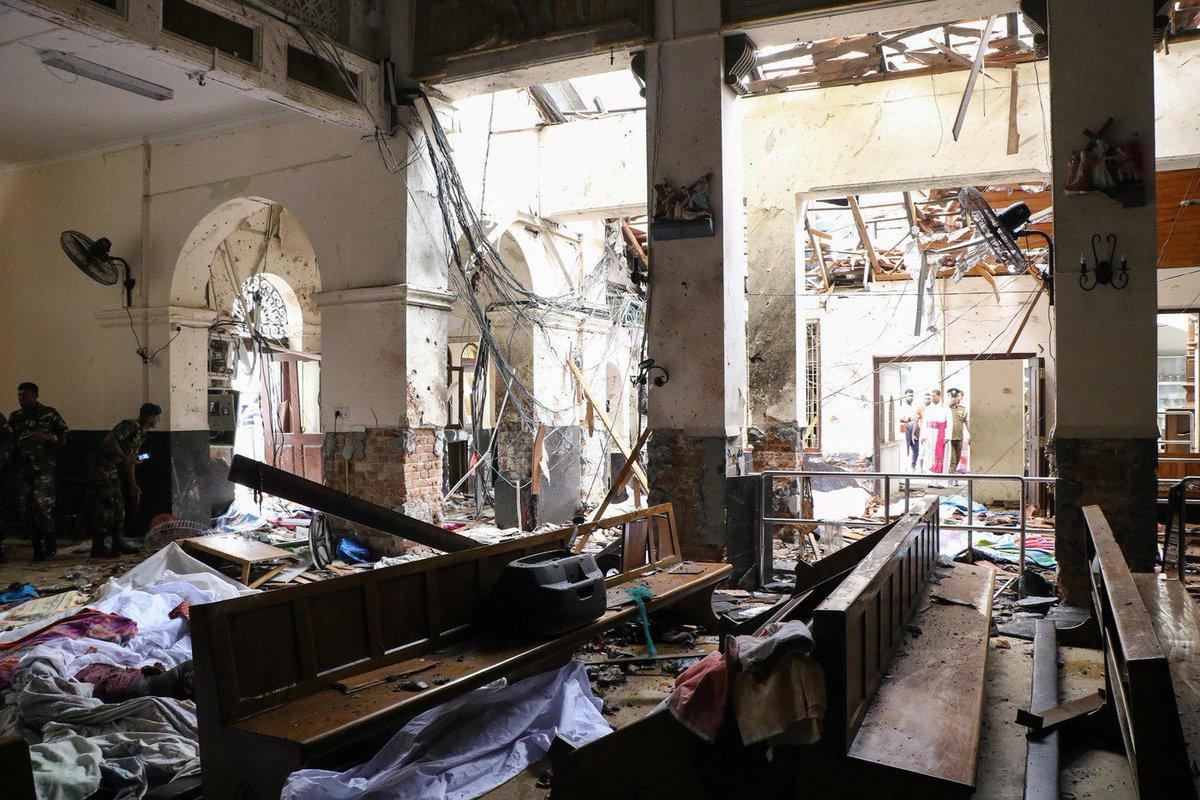 #SriLankaAttacks