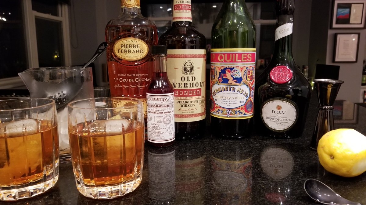 test Twitter Media - Tonight's classic #cocktail, the Vieux Carré. https://t.co/qnsRBi5oeO