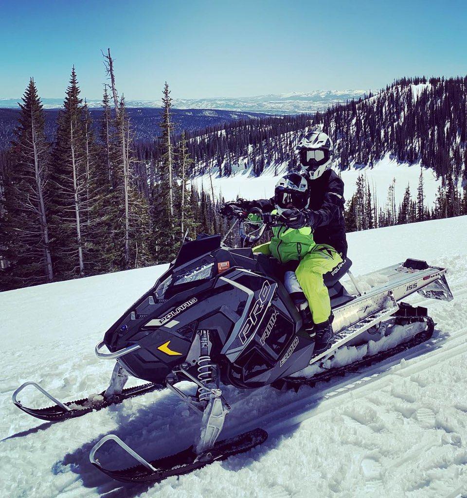 snowmobiling into the week like... https://t.co/WGpz87LLiB
