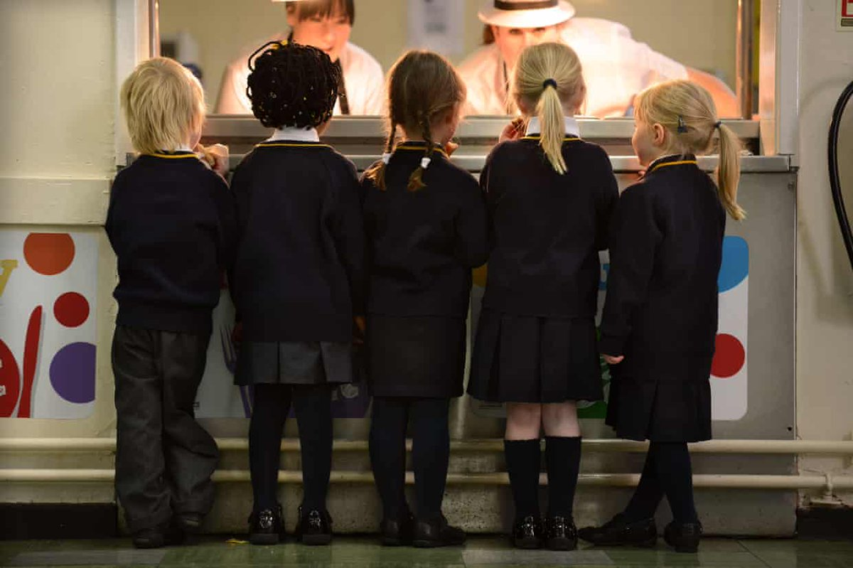 RT @PaulOnBooks: Tory Britain: Schoolchildren queuing for toast as they arrive at school with no breakfast. https://t.co/iX3kRB78U6