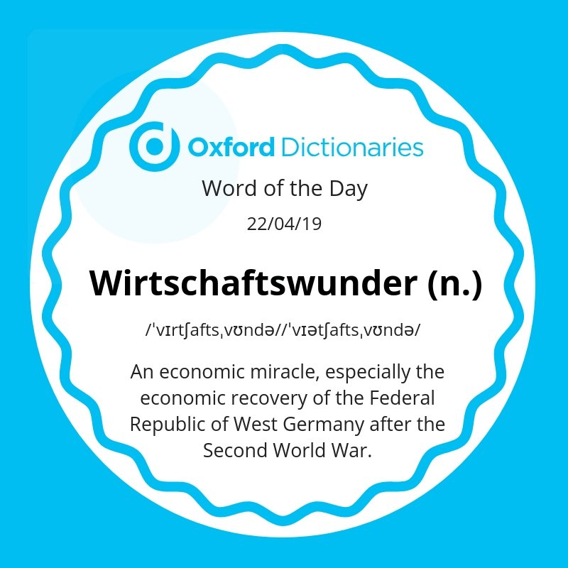 test Twitter Media - Word of the Day: Wirtschaftswunder  https://t.co/gdWZogUWyT https://t.co/ZhUQkG0Nei