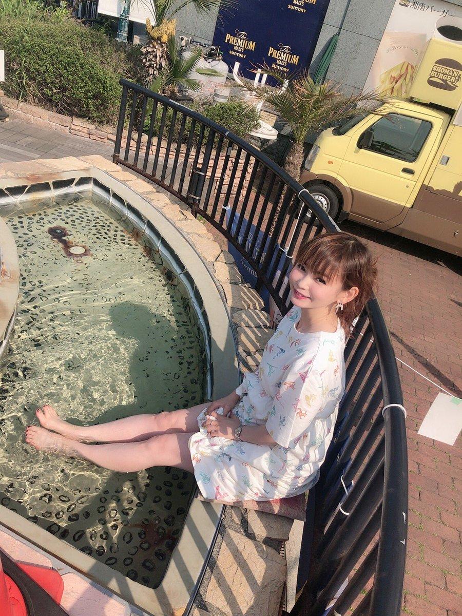 最高ー!江ノ島の海を眺めながら 足湯!!天国  #彼女とデートなう   に使ってください頼むから...
