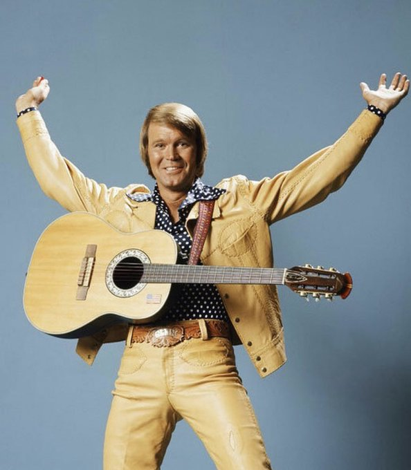 Happy Birthday to the rhinestone cowboy, Glen Campbell