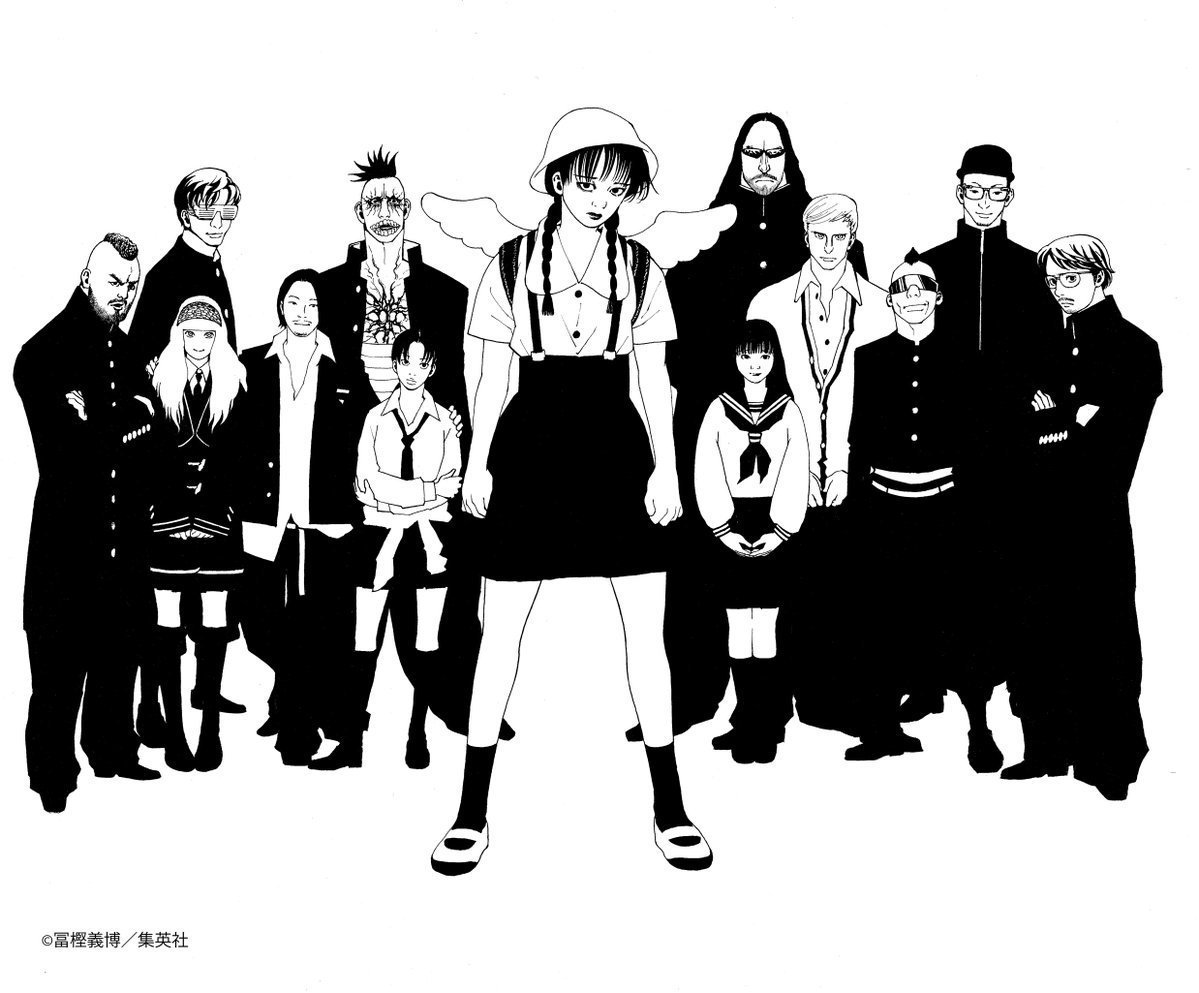 test ツイッターメディア - 2年前に戸川純 with vampilliaを冨樫義博が描いたイラストは未だにお気に入り #DOMMUNE https://t.co/sxG63PHMqD