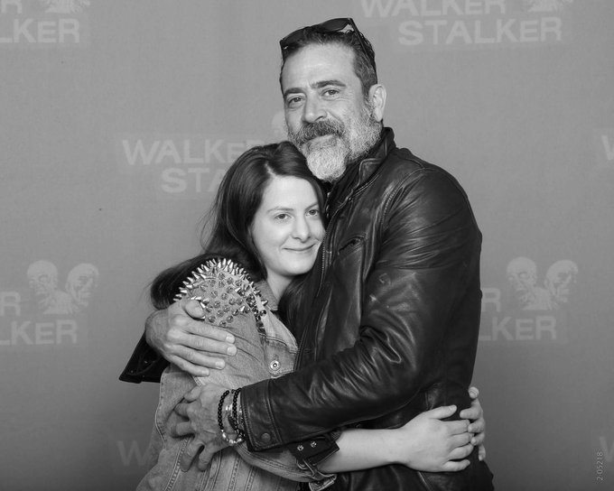 (This makes me look like I just got out of bed but anyway.) Happy Birthday Jeffrey Dean Morgan! Take care, be safe