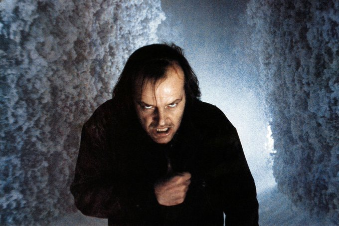 Happy birthday to Jack Nicholson! What is your favorite scene from THE SHINING?