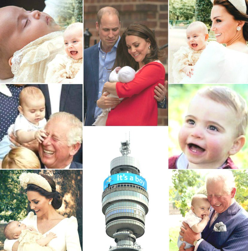 💙 We wish you Happy 1th Birthday our little Prince Louis 🎉  We wish you a very health,happiness and love. We love you our angel Louis 🥳🥳🥳 We wish all the best to the little Prince ☺️☺️☺️ https://t.co/BZonOOPHXq