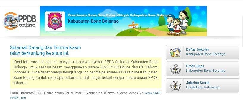 Cara Pendaftaran PPDB Online SMP Kabupaten Bone Bolango2019/2020 https://t.co/iUsRS9GIWZ https://t.co/xLPXpveq2P
