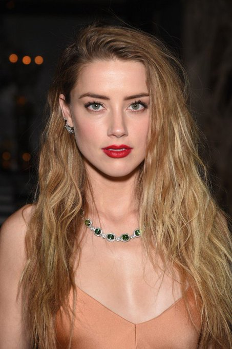 Happy Birthday to Amber Heard , one of the most beautiful women in this world!