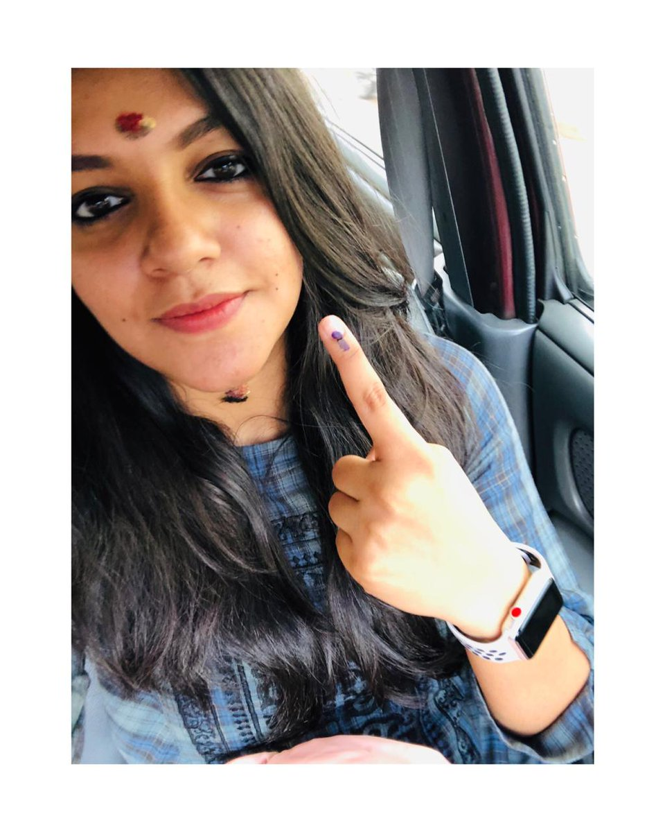 Vote. Its our right and its our RESPONSIBILITY. I have done my bit. Make your votes for a better tomorrow. #elections2019 #loksabhaelections2019 #keralaelections #sveep