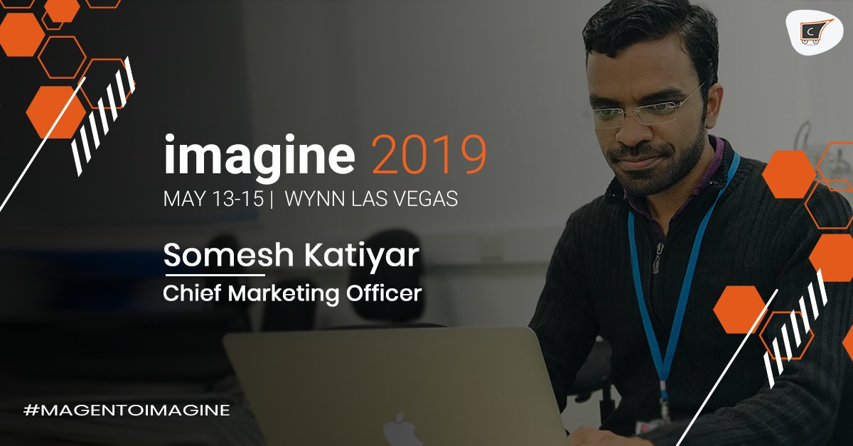 cedcommerce: Hear from @someshkatiyar99 about Collaborative Shopping at our booth in #MagentoImagine.n#RoadtoImaginen@magento https://t.co/DgqnXrjFwE