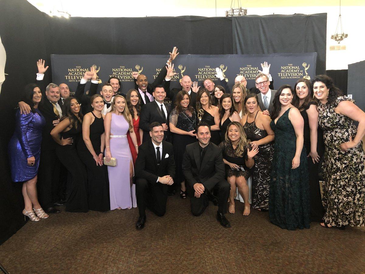 RT @rachaelray: Go team! Lucky 🍀 Season # 13 at the Daytime #Emmys for the @RachaelRayShow. Wow! https://t.co/NlcrjvXV16