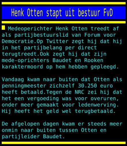 test Twitter Media - Henk Otten stapt uit bestuur FvD https://t.co/H4gLgN8Dbi