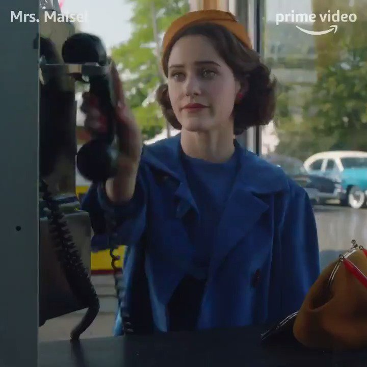 If only hanging up a smartphone had the same effect. #MaiselTV #NationalTelephoneDay https://t.co/oyIPBZ2VlQ