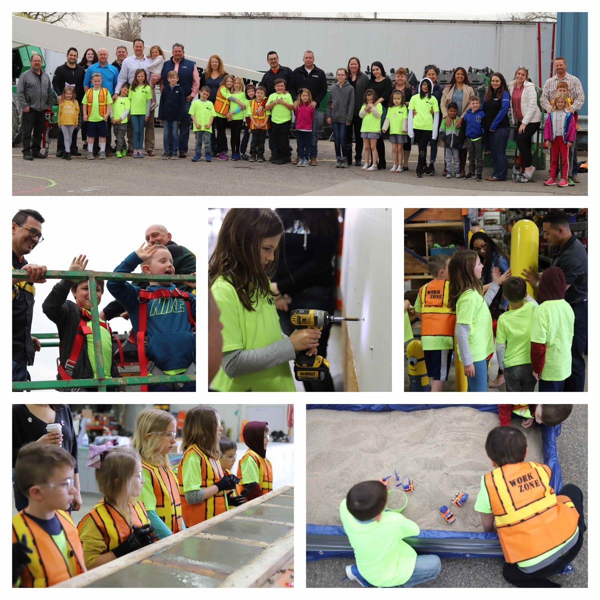test Twitter Media - Today, Ideal celebrated #takeyourchildtoworkday! The children participated in several activities that allowed them to better understand the construction industry. https://t.co/Bo6XqPfMTO