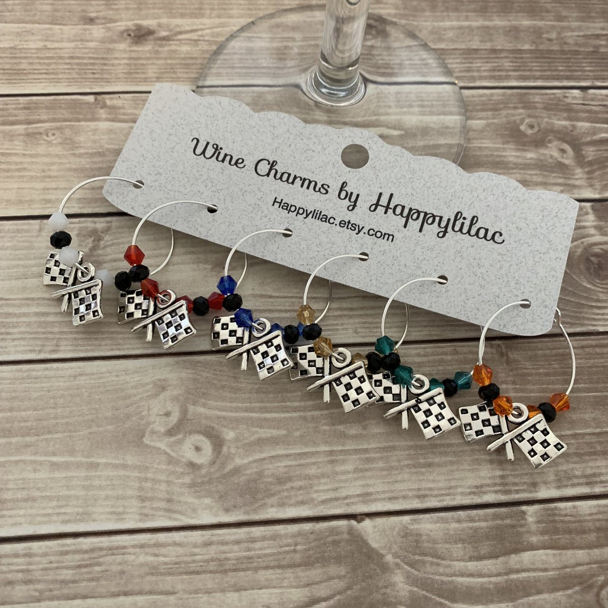 test Twitter Media - Excited to share the latest addition to my #etsy shop: Checkered Flag Wine Charms, Racing Wine Charm #NASCAR #FormulaOne #6WineCharms #IndyCar #RaceCar #CheckeredFlag #F1 #RaceFan #NHRA #DragRace https://t.co/5mtGM7NzKk #wineglasscharm #Indianapolis500 #indy500 https://t.co/zoEsFSEHNK