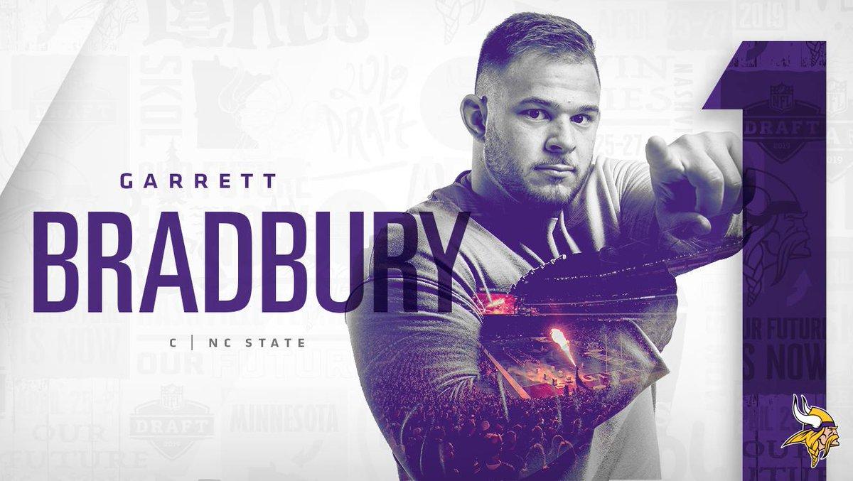 RT @Vikings: ????????????  Welcome to the #Vikings, @Gbradbury_11! https://t.co/V0BqHMhbMd