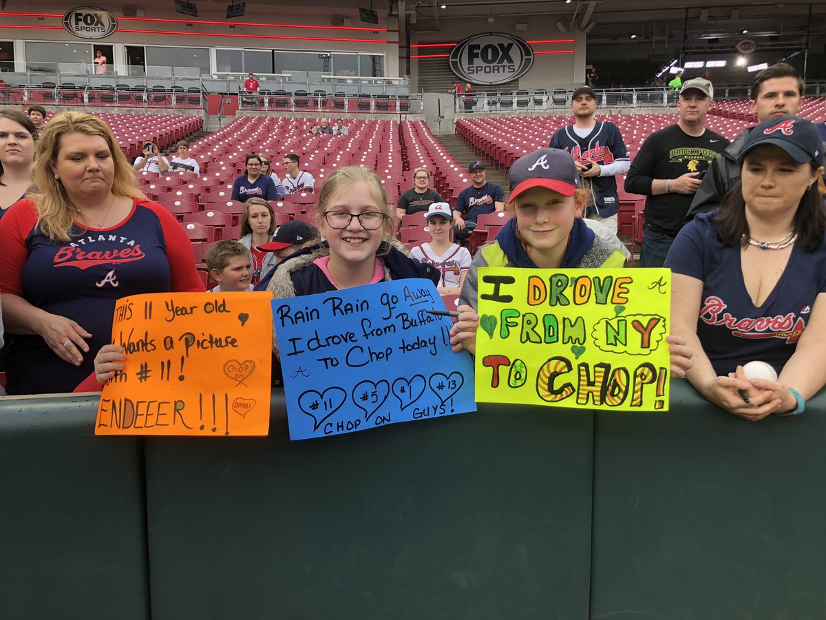 test Twitter Media - RT @KelsWingert: Man... no city is too far for #BravesCountry. Incredible showing here this week in Cincy! #ChopOn https://t.co/sx16p0mG9q