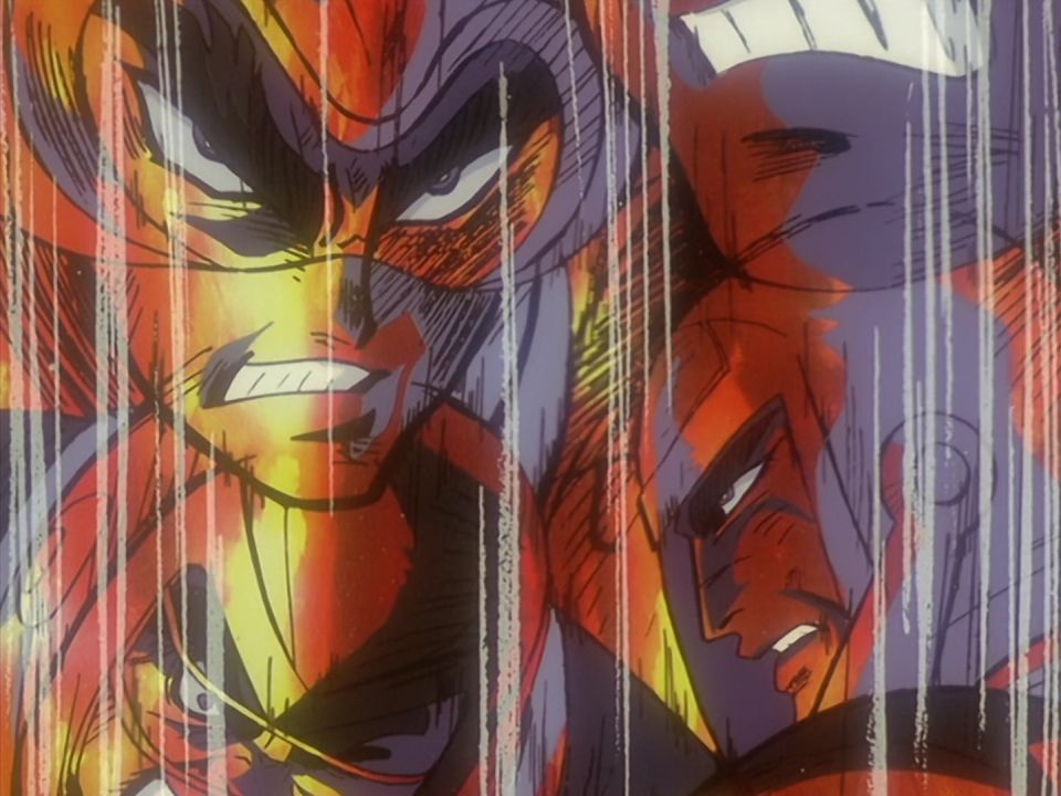 RT @GetterBot: From Episode 13 of Getter Robo Armageddon https://t.co/cEOtEaXqga