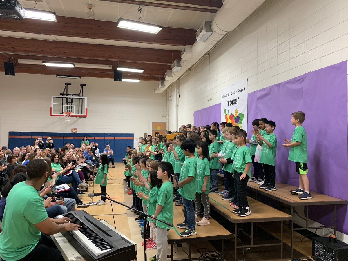 test Twitter Media - Congratulations first graders - what great songs about food!  So fun! #d30learns https://t.co/1FlVdAULwf