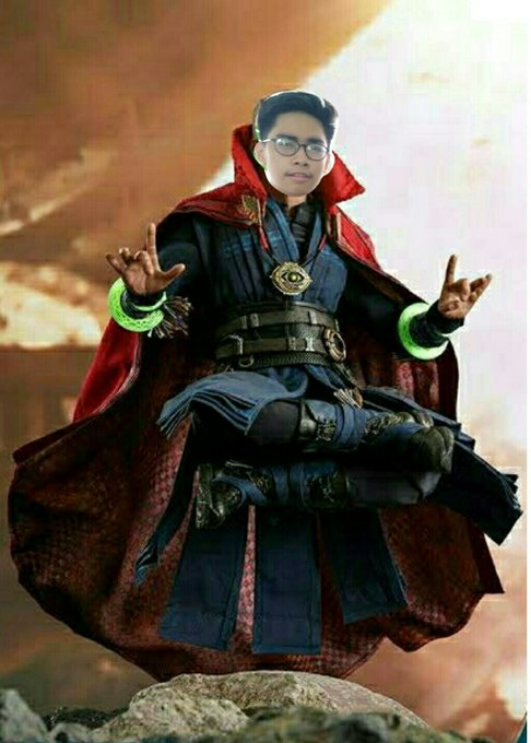 Happy Birthday sa boy counterpart ko sa pagiging multifandom. Ara pa sa akon Eye of Agamotto mo HAHAHA