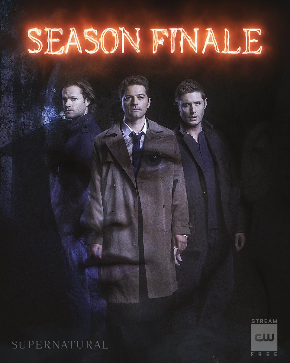 RT @cw_spn: It's the beginning of the end. Stream the season finale NOW: https://t.co/PUpSYmkW79 #Supernatural https://t.co/axlIlXLv8V