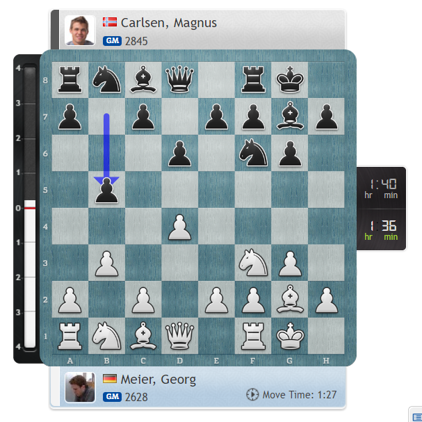 "test Twitter Media - Jan on 6...b5: ""Magnus doing Magnus things!""  https://t.co/pwbHNsMudZ #c24live #GRENKEChess https://t.co/7o3DthGeGQ"