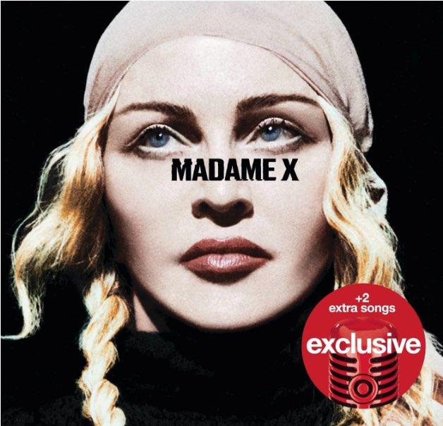 ❌ #MadameX available for pre-order including +2 bonus tracks ❌only at @Target ❌  https://t.co/I4Llgd2cjF https://t.co/f2EjPDOyhK