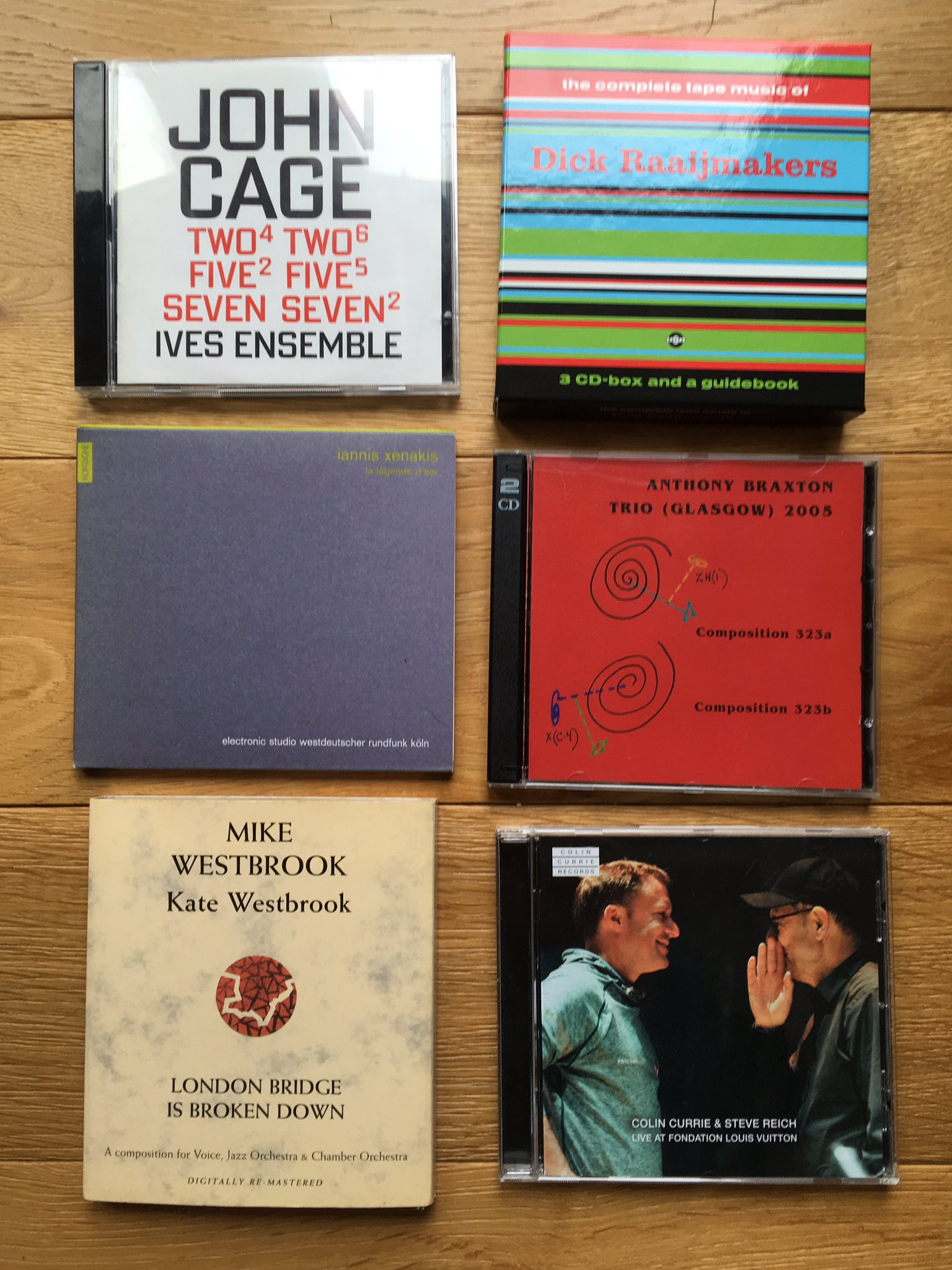 Recent arrivals CDs: https://t.co/Sb3xy28vho