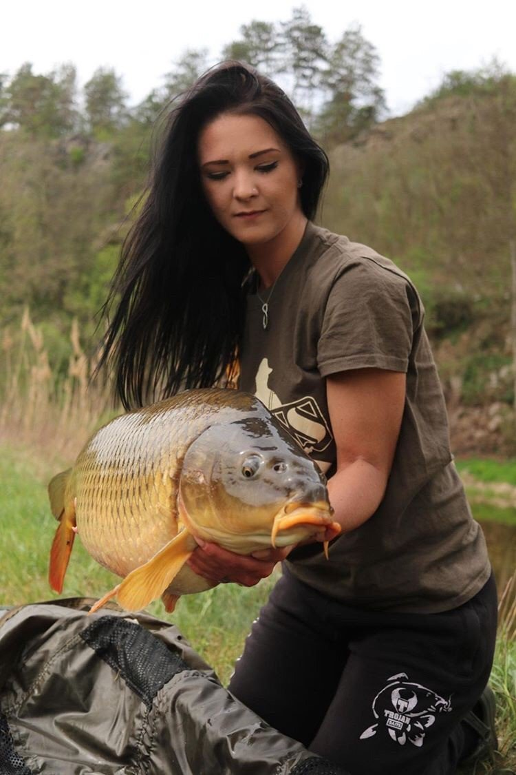 Weekend success for Vanessa. #vass #trojan<b>Baits</b> #carpfishing #MondayMotivation https://t.co/r