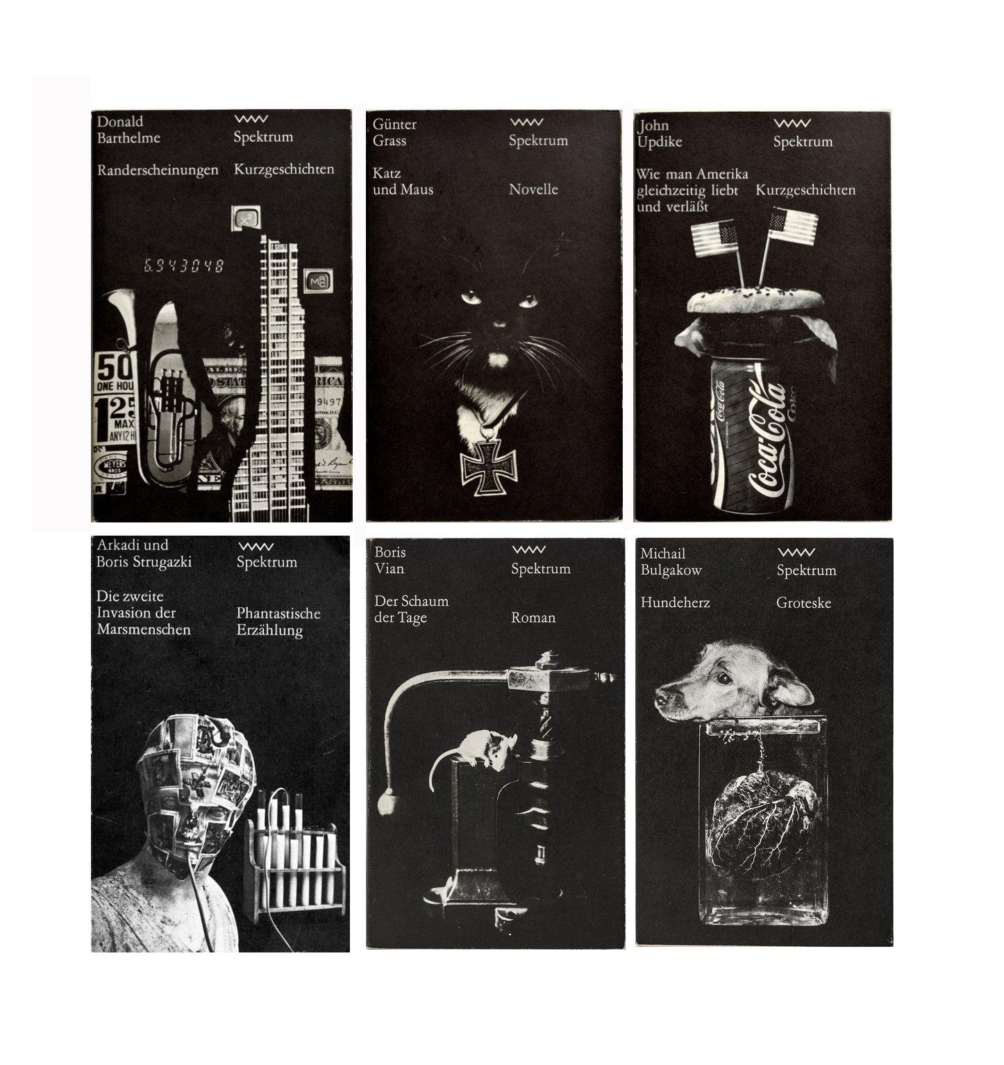Spektrum paperback series Design: Lothar Reher https://t.co/E53zjXbmHi