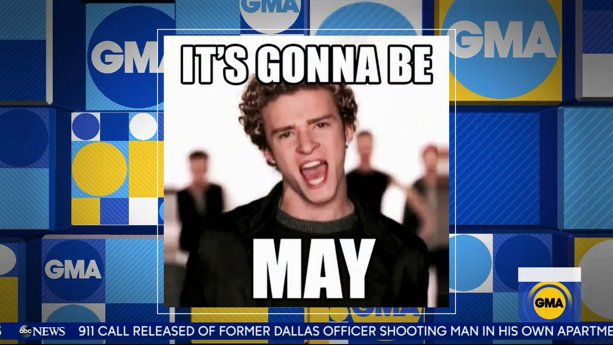 RT @GMA: .@lancebass admits that all the @NSYNC guys tease @jtimberlake over #ItsGonnaBeMay memes! ???? https://t.co/O4AJQ7o7XJ