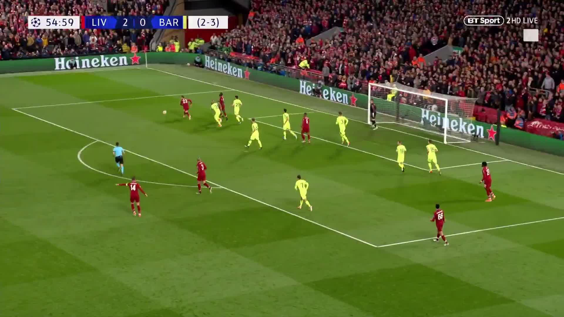 LIVERPOOL HAVE A THIRD!!!!!  Georginio Wijnaldum the Champions League hero!!!!  🔥🔥🔥 https://t.co/eLroWtnpJ6