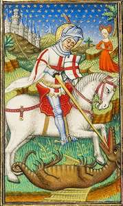 test Twitter Media - Today we keep the great Feastday of St. George, Patron of our land. I've been asking his prayers today for the Royal Family, for our government, for our political and civic leaders, and for the conversion of England through a renaissance of the Christian Faith. https://t.co/5rbn7aUipP