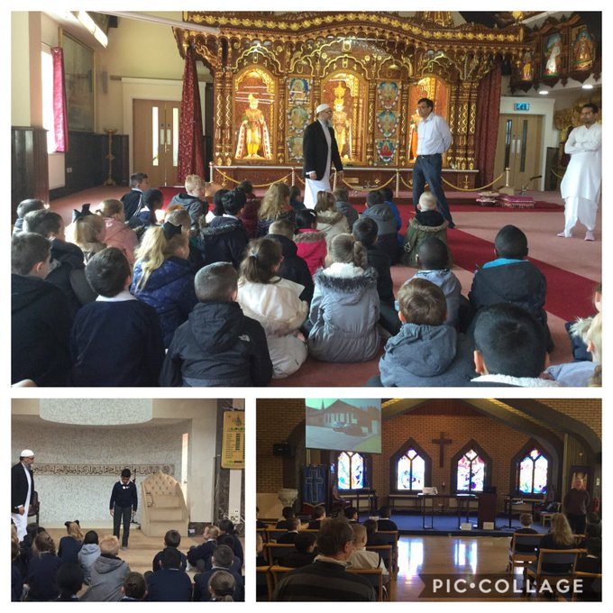 Year 4 had a fantastic time on The Faith Trail in Bolton yesterday. https://t.co/HLISg9sUOt