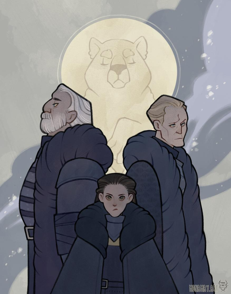 RT @antlerclad: House Mormont: Here We Stand   #GameofThrones #GOT https://t.co/Q2GhyMoldy