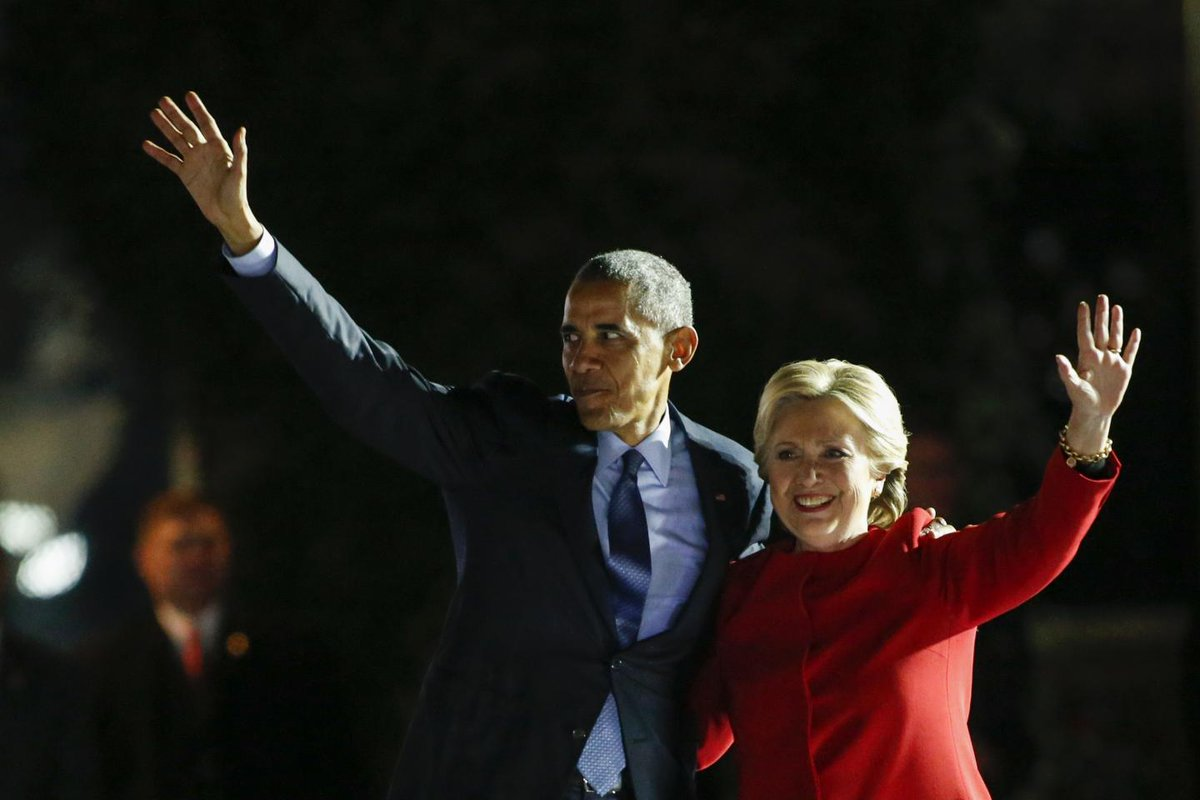 "Obama blamed Clinton's ""soulless campaign"" for 2016 loss to Trump: Book"