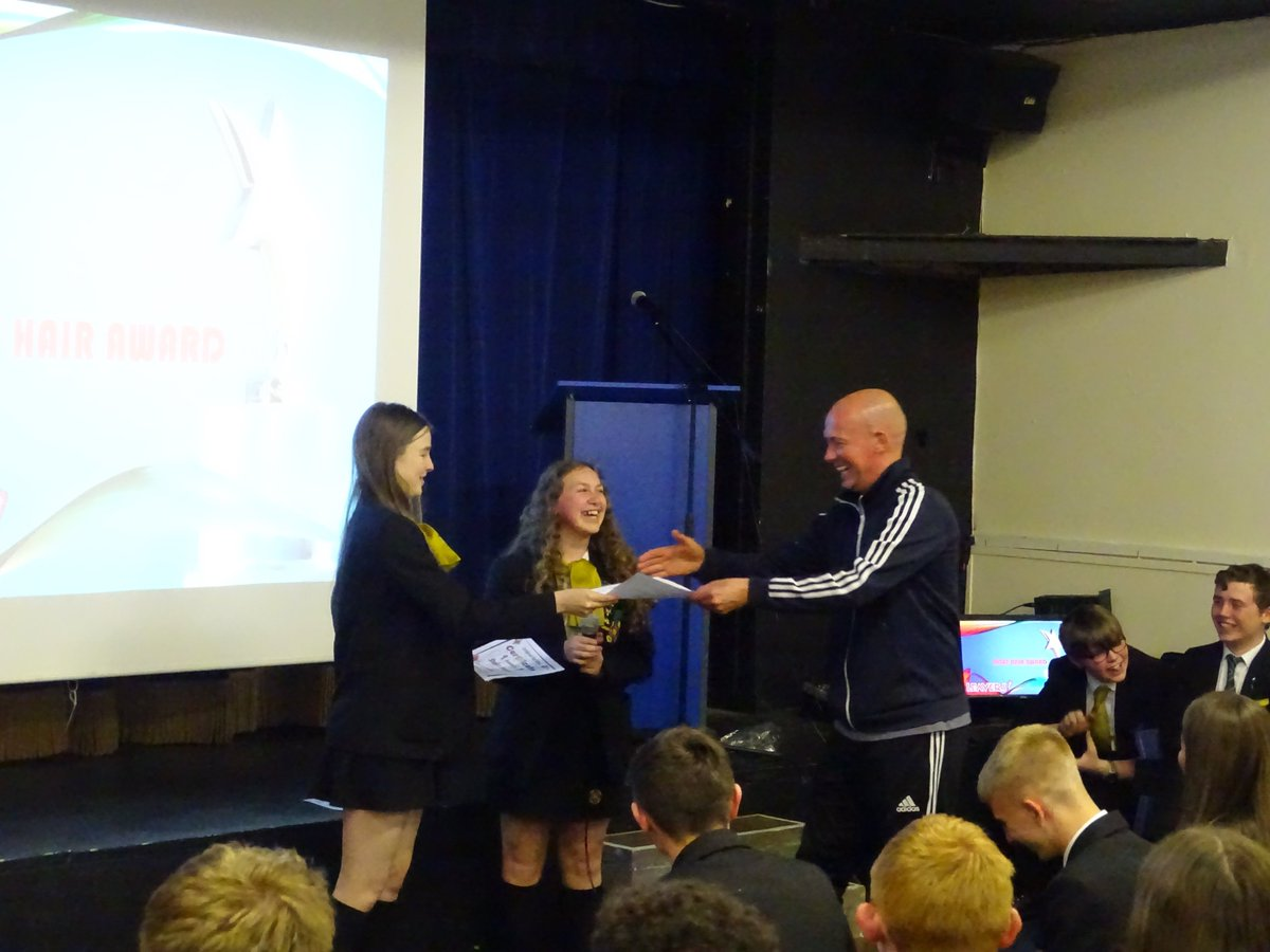 test Twitter Media - Year 11's enjoying their Leavers' Assembly - presenting awards to learners and teachers and signing shirts.  #castlebrookyear11leavers https://t.co/RVNMN4Meit
