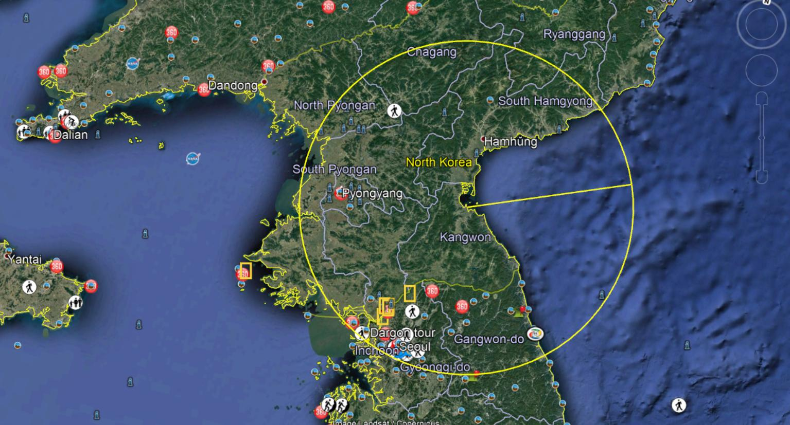 So ROK reporting projectiles with range up to 70 to 200kms from Wonsan https://t.co/68jwWhxTdu