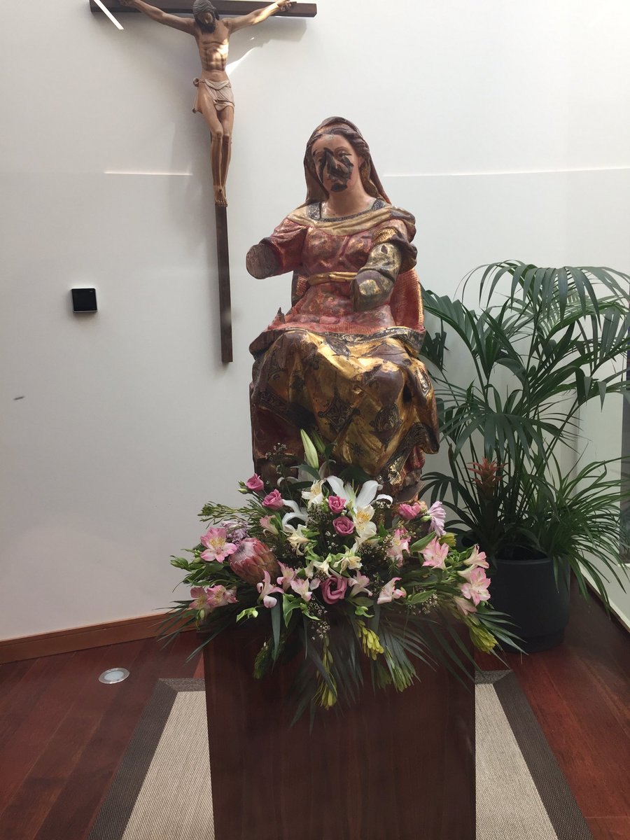 test Twitter Media - Today is the first full day of the Bishops' Conference here at Valladolid. The best thing is being under the prayer and protection of Our Lady Vulnerata. On this feast of the English Martyrs, may she pray for us, for our dioceses and for the conversion of England. https://t.co/ykqHJeMzmB