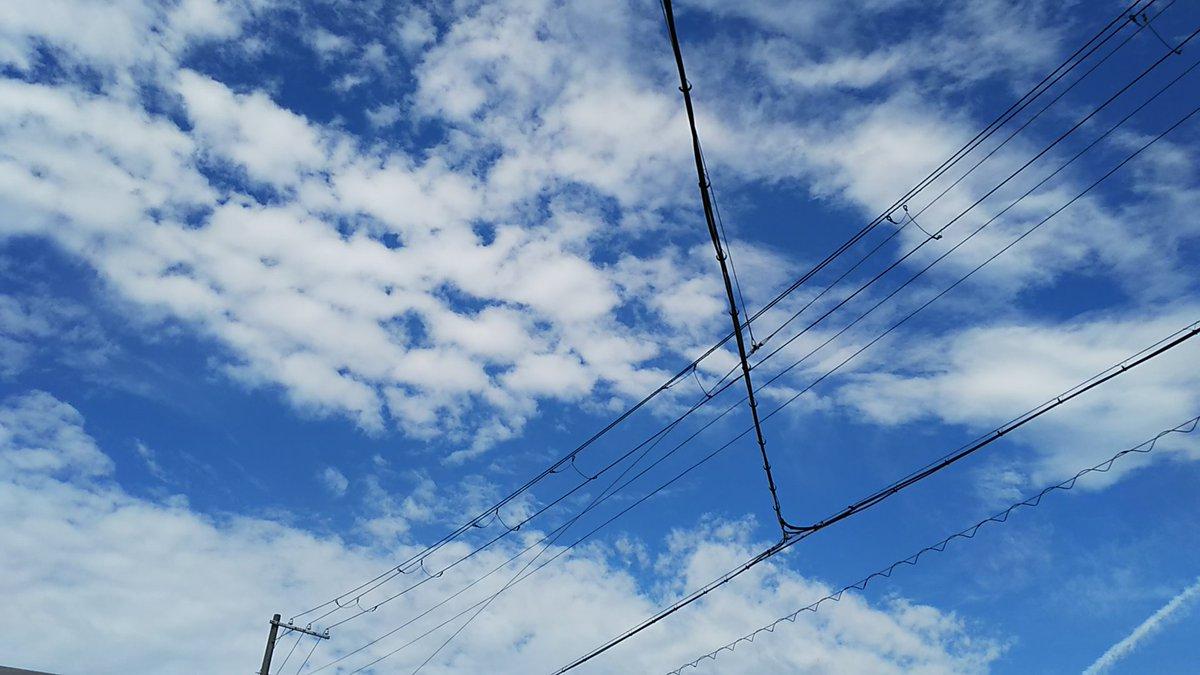 test ツイッターメディア - #写真好きな人と繫がりたい  #写真を撮るのが好きな人と繋がりたい  #ファインダー越しの私の世界  #空表情 今朝の空表情✨(°▽°) 彩雲も出てた❗️切り取り場所で全然違う雲の表情((o(^∇^)o)) https://t.co/4TO0gmg8KJ