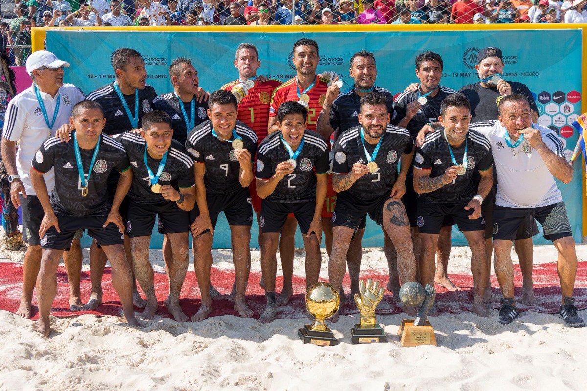 RT @RAMONRAYA23: Mexico beachsoccer campeón de concacaf... UNA VEZ MÁS!!! https://t.co/FPliPkfcdB
