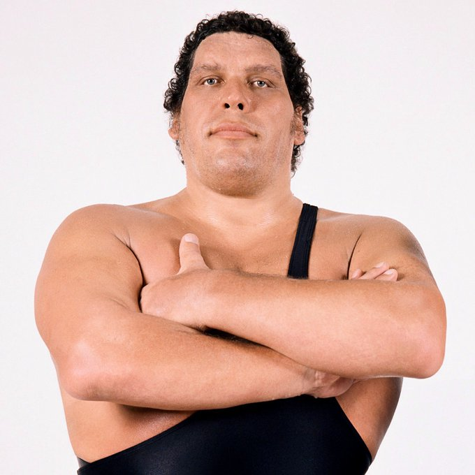 Happy Birthday to the late, great, Andre the Giant!