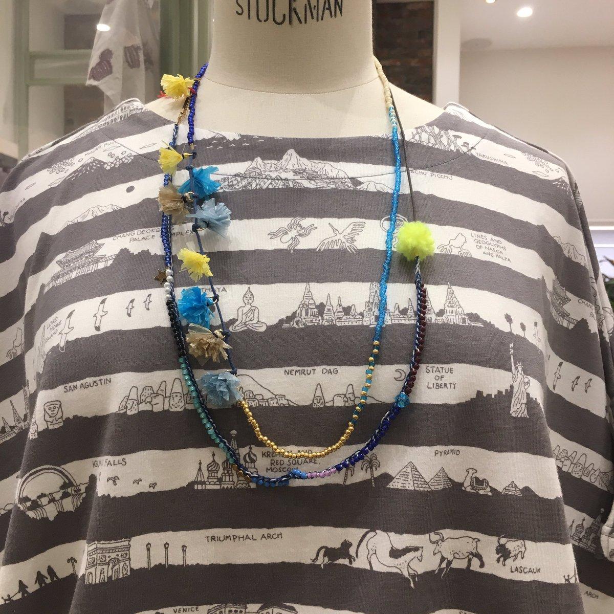 test ツイッターメディア - 夏服を彩るアクセサリーも夏らしい鮮やかななカラーを取り揃えてます☀️マーブルのいつものお洋服にプラスワンアイテムで夏を先取りしませんか?たくさんアクセサリー取り揃えております❗️ぜひ店頭でご覧下さいね😊お待ちしております💫梅田店スタッフ一同 #マーブルシュッド  #ルクアイーレ https://t.co/QZtux6US8q