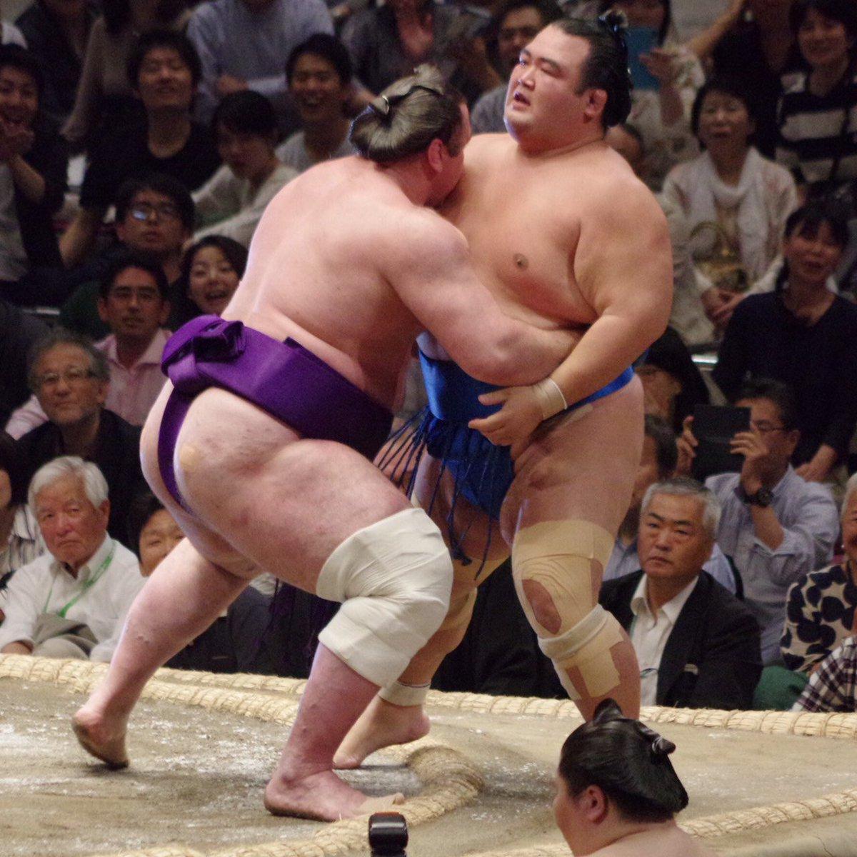 test ツイッターメディア - <七日目の様子> 幕内取組。 栃ノ心(7勝0敗) 寄り切り 琴奨菊(2勝5敗)。#sumo #相撲 https://t.co/P9vcgopJPF