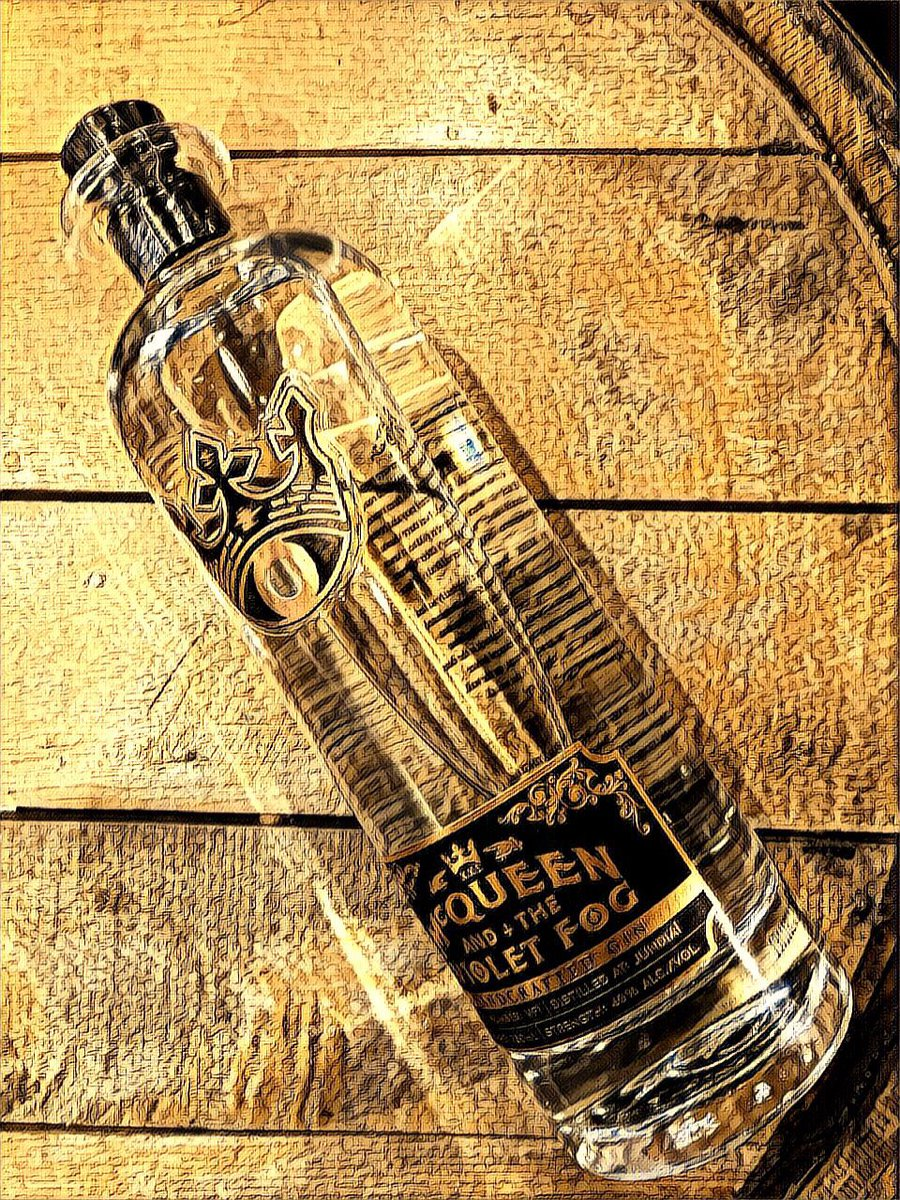 """@McQueenVF McQueen And The Violet Fog #Gin, is now in! """"A single copper pot still in the hills of #Jundiaí, #Brazil.  21 different botanicals, incl six seldom found in gin: basil, rosemary, fennel seed, calamansi, star anise & açai. Is it wickedly complex or angelically smooth?"""""""