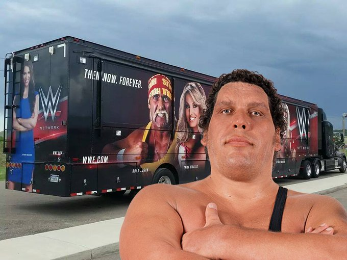 Happy Birthday to Andre the Giant, who would have been 73 today. He would have flipped that truck,